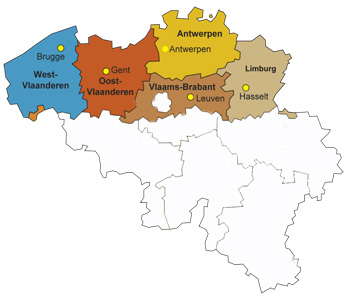 Provincies Vlaanderen